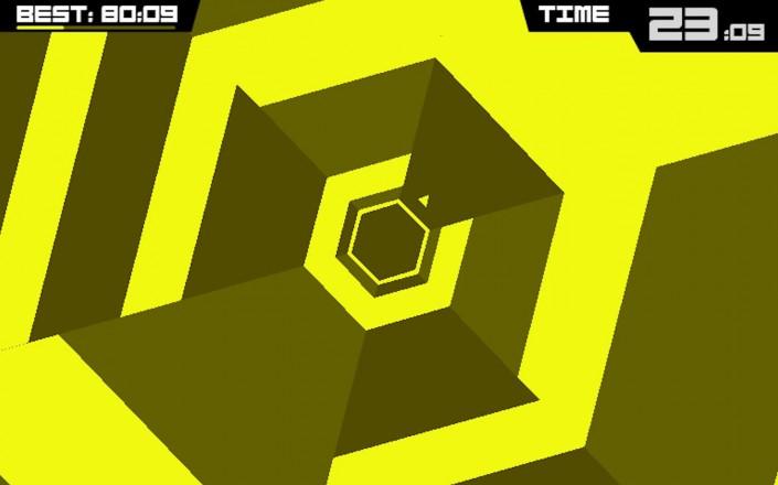 Immagine del gioco Super Hexagon per Android