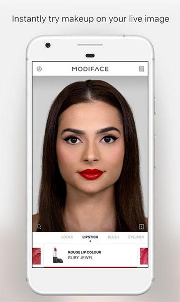 App Virtual MakeUp