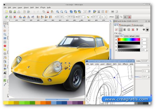 Immagine del programma InkScape