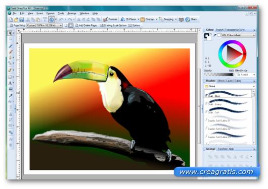 Immagine del programma Serif DawPlus