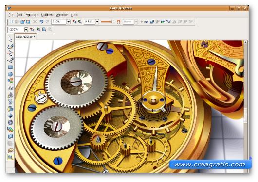 Immagine del programma Xara Xtreme