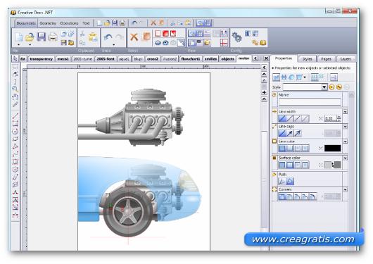 Immagine del programma Creative Docs .NET