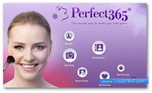 Immagine dell'applicazione Perfect365 per Android