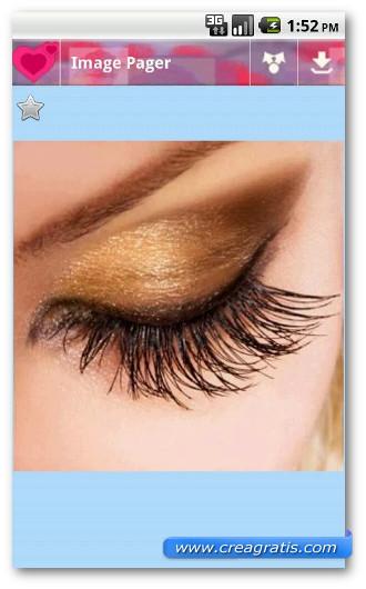 Immagine dell'applicazione Makeup Idee per Android