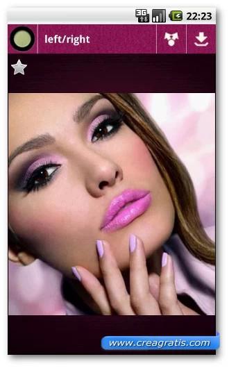 Immagine dell'applicazione Makeup Looks per Android