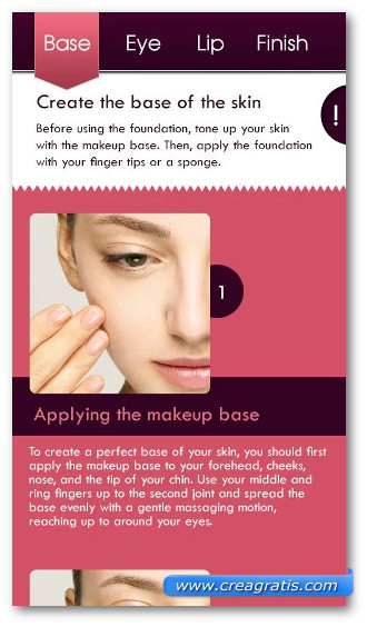 Immagine dell'applicazione How To Makeup 2013 per Android