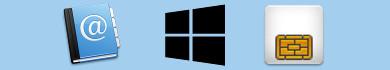Come importare i contatti della SIM su Windows Phone 8