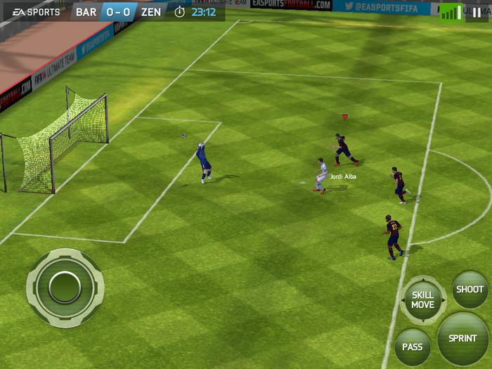 Immagine del gioco di calcio FIFA 14