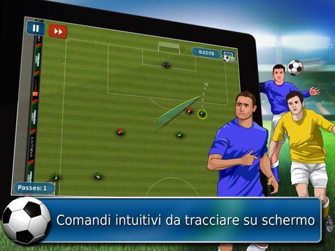 Immagine del gioco di calcio Fluid Calcio