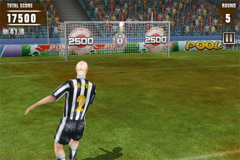 Immagine del gioco di calcio Football Kicks
