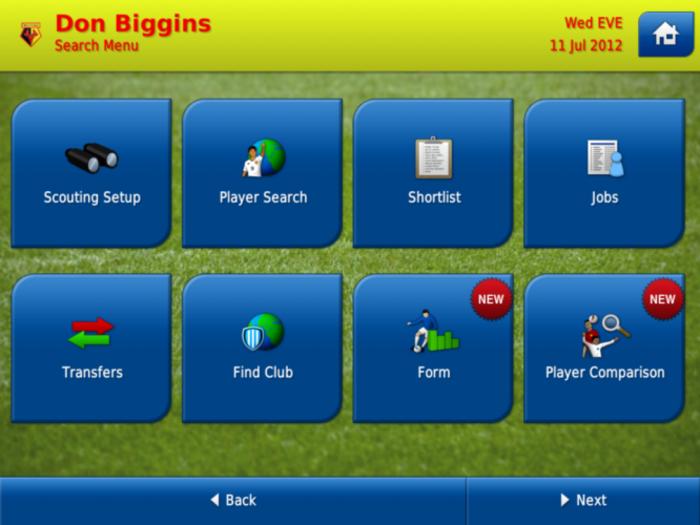 Immagine del gioco di calcio Football Manager 2013