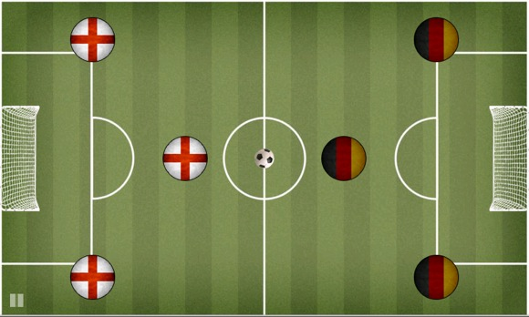 Immagine del gioco di calcio Pocket Soccer