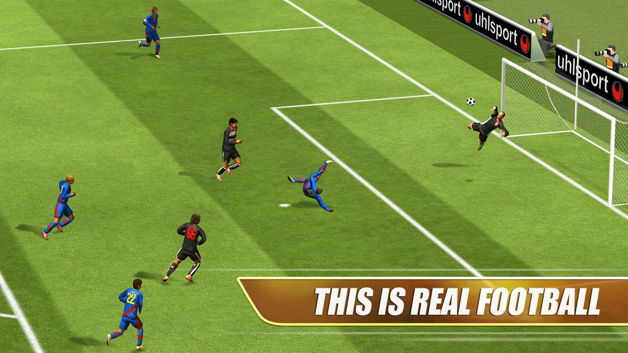 Immagine del gioco di calcio Real Football
