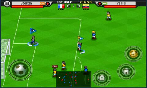 Immagine del gioco di calcio Soccer Superstar