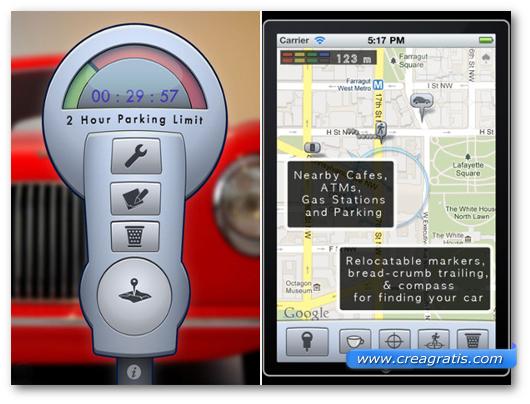 Schermate dell'applicazione Honk