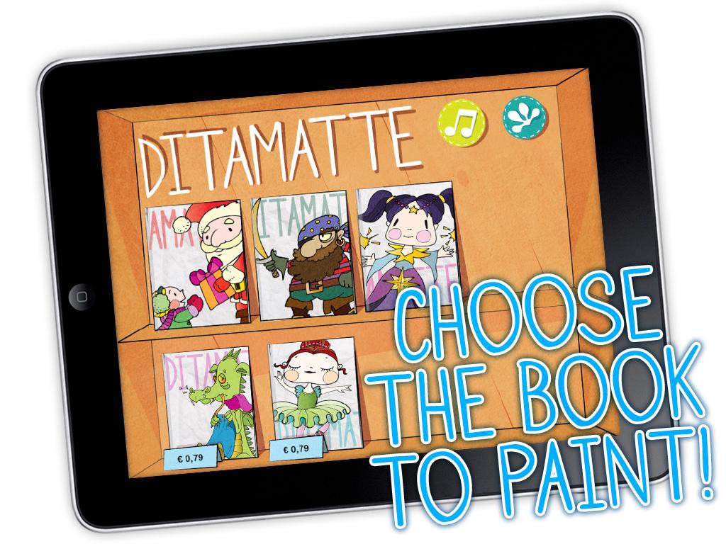 Immagine dell'applicazione Ditamatte per bambini