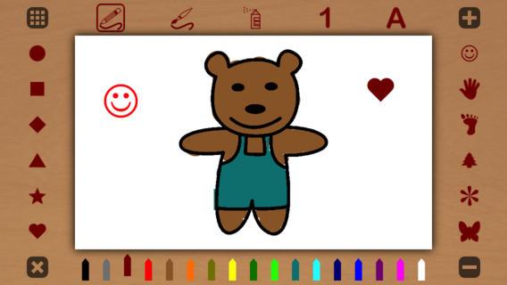 Immagine dell'applicazione Kids Paint Plus per bambini