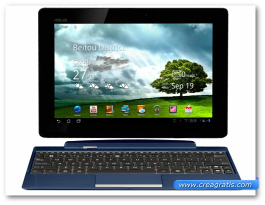 Immagine del tablet Asus TF300T