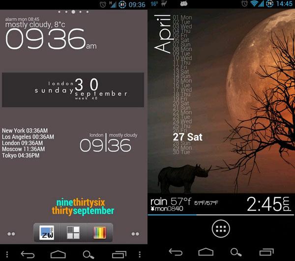 Immagine dell'applicazione Zooper Widget per Android