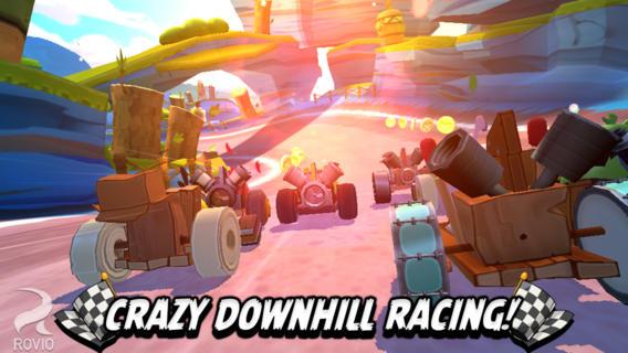 Immagine del gioco Angry Birds Go! per iPhone