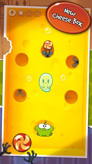 Schermata del gioco Cut the Rope per iPhone