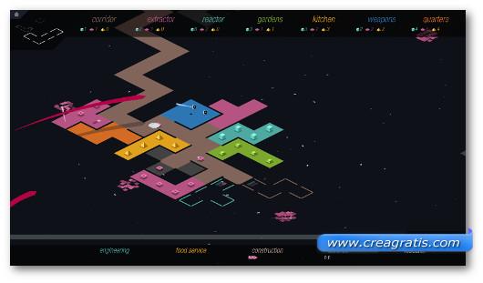 Schermata del gioco Rymdkapsel per Android