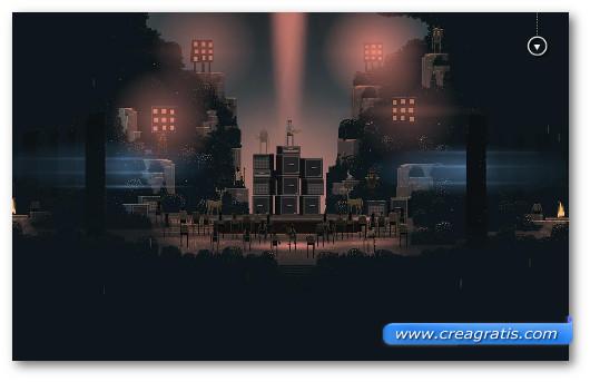 Schermata del gioco Superbrothers: Sword & Sworcery per Android