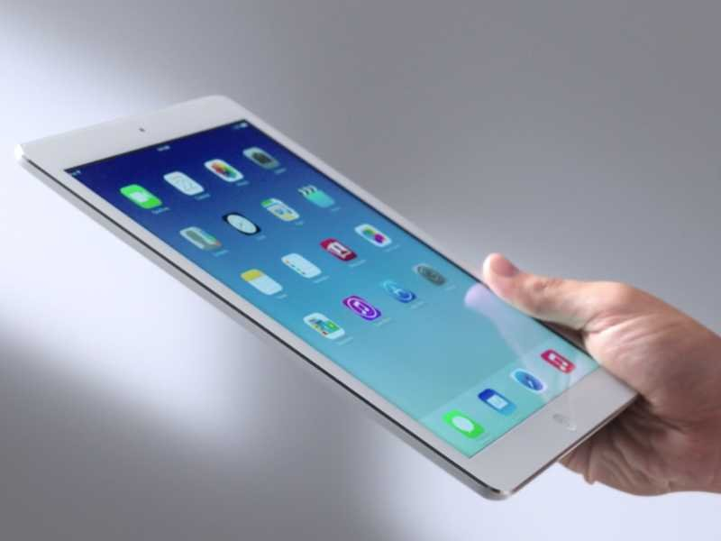 Immagine del tablet Apple iPad Air
