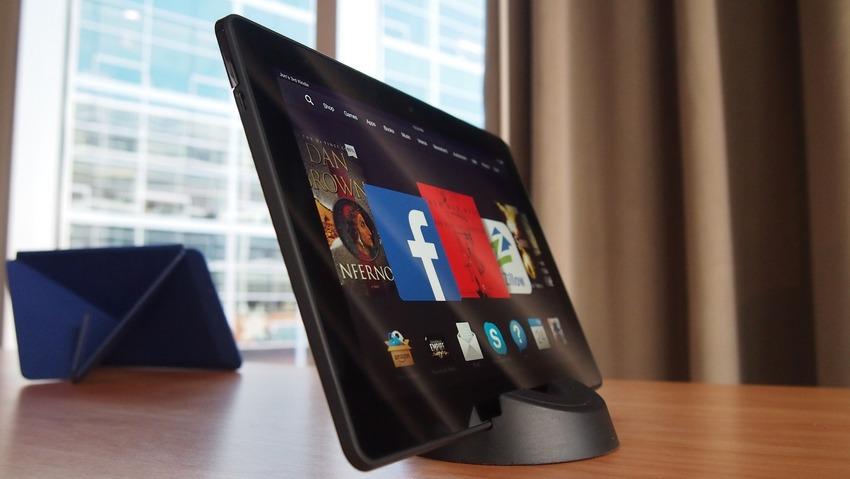 Immagine del tablet Amazon Kindle Fire HDX