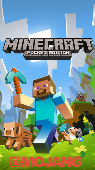 Schermata del gioco Minecraft Pocket Edition per iPhone