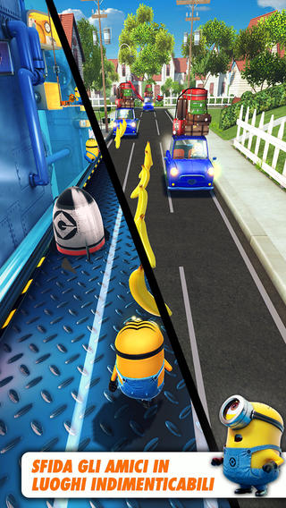 Immagine del gioco Minion Rush per iPhone