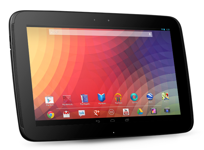 Immagine del tablet Google Nexus 10