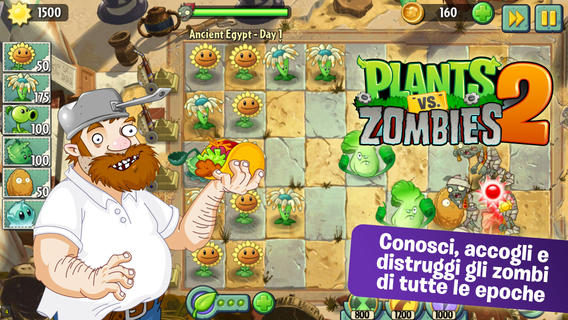 Immagine del gioco Plants vs Zombies 2 per iPhone