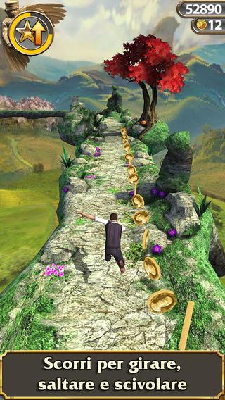 Schermata del gioco Temple Run: Oz per iPhone