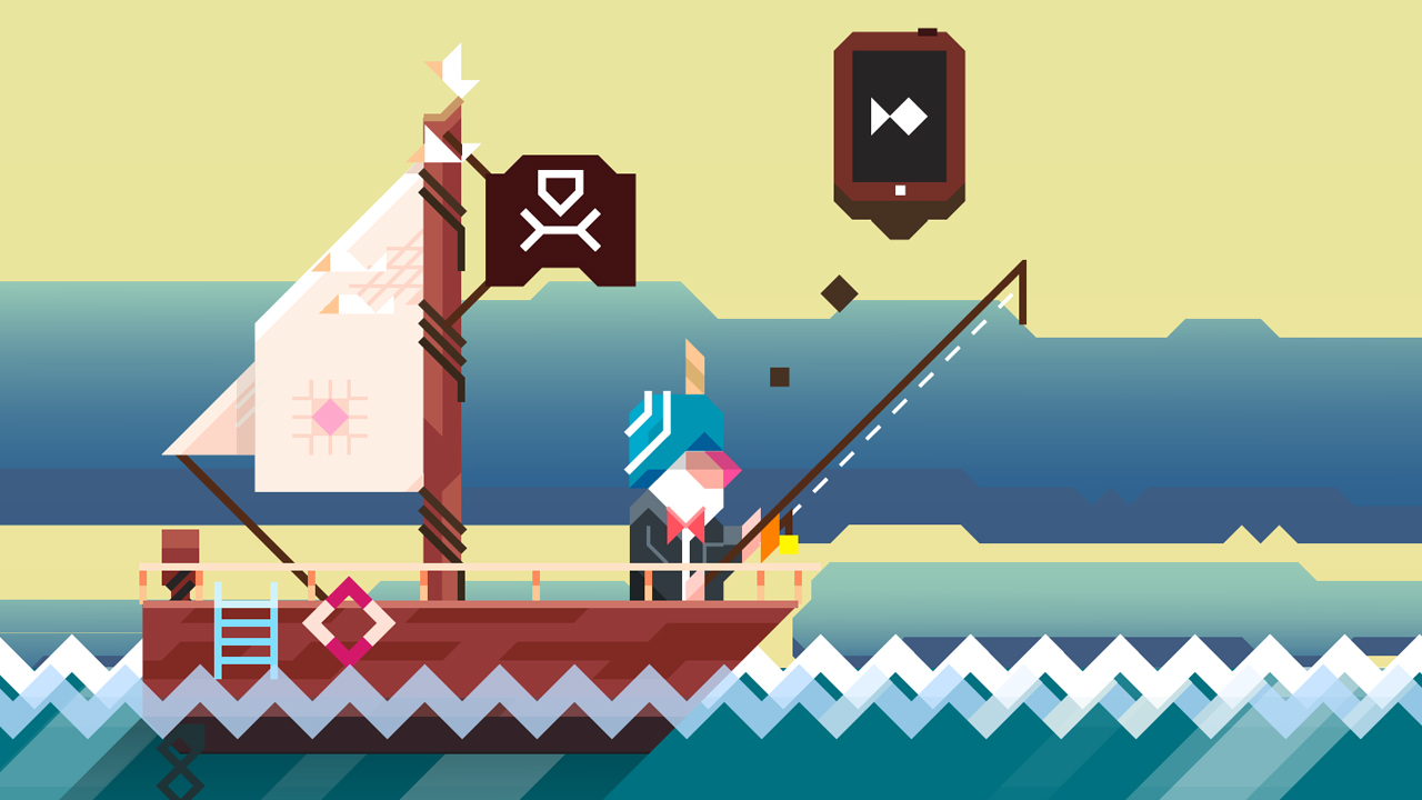 Immagine del gioco Ridiculous Fishing per Android