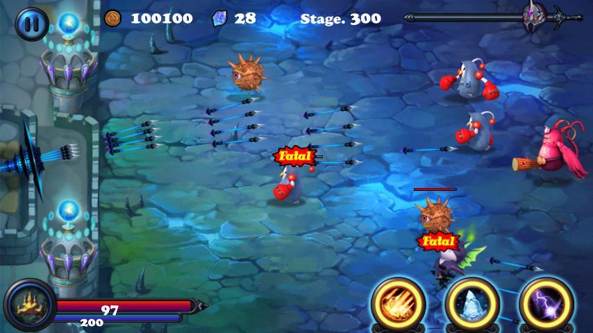 Immagine del gioco Defender II per Android