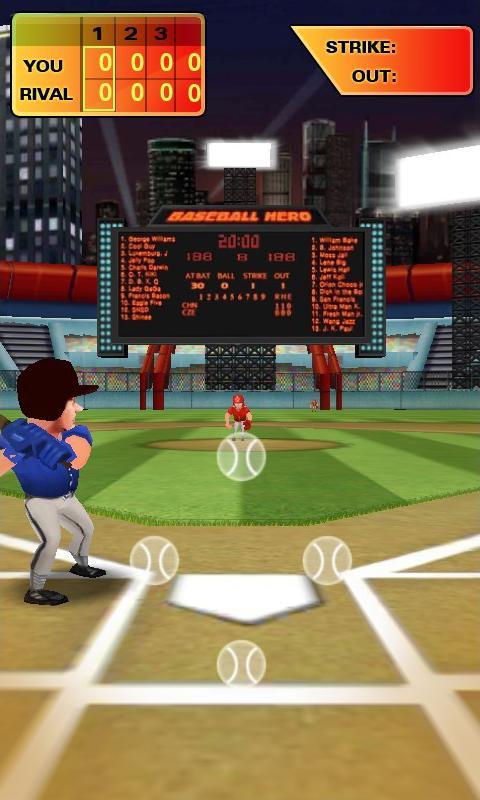 Immagine del gioco Baseball Hero per Android