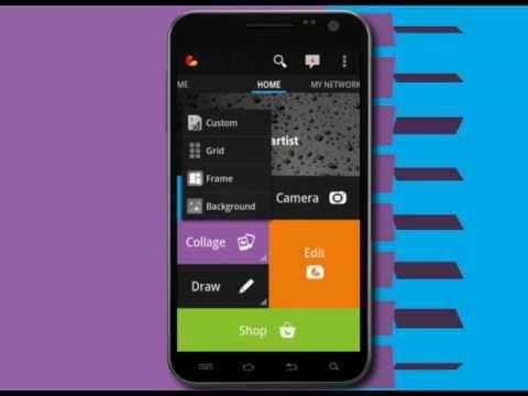 Immagine dell'applicazione PicsArt per Android