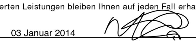 Schermata per l'inserimento di testo su un PDF