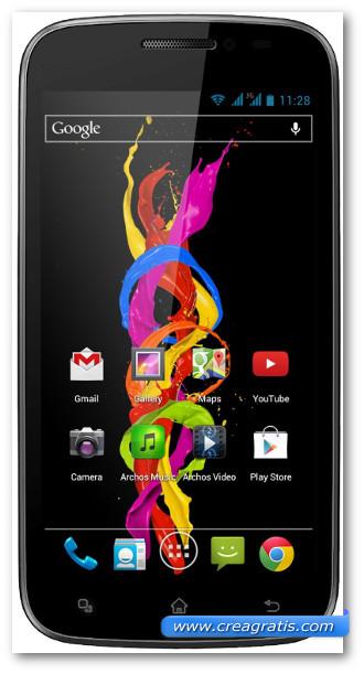 Immagine dello smartphone dual SIM Archos Titanium 50