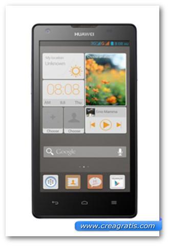 Immagine dello smartphone dual SIM Huawei Ascend G700