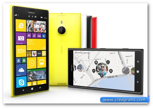 Immagine del Nokia 1520