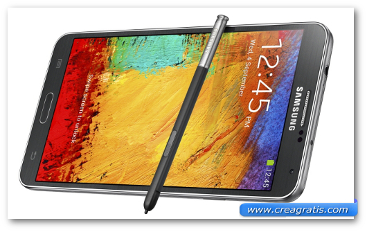 Immagine del Samsung Galaxy Note 3