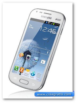 Immagine dello smartphone dual SIM Samsung Galaxy S