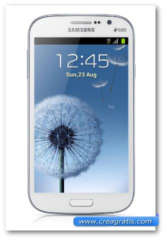 Immagine dello smartphone dual SIM Samsung Galaxy Grand Duos