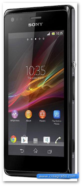 Immagine dello smartphone Sony Xperia M Dual SIM