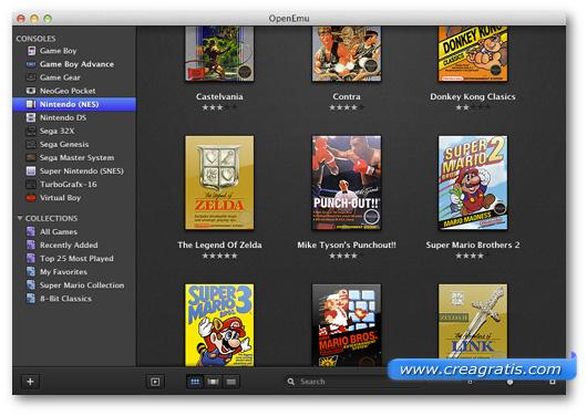Immagine dell'emulatore OpenEmu