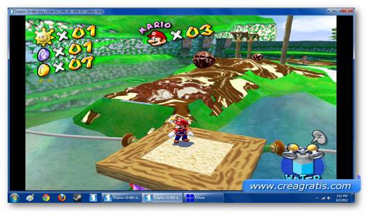 Immagine dell'emulatore Dolphin