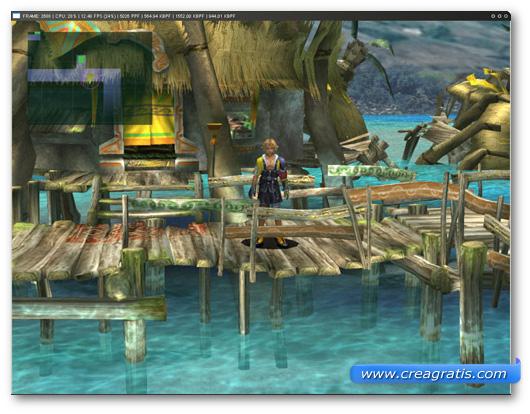 Immagine dell'emulatore PCSX2