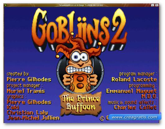 Immagine dell'emulatore ScummVM